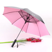 新品电风扇伞 夏季风扇清凉伞 带风扇雨伞 带usb接口可充电雨伞