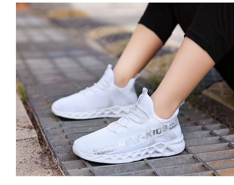 11342372925 1051559640 - Kid Running Sneakers Summer Children Sport Shoes Tenis Infantil Boy Basket Footwear Lightweight Breathable Girl Chaussure Enfant