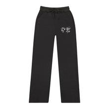 跨境专供2019新款blackpink-a韩国女团周边抓绒时?#34892;?#38386;男女卫裤