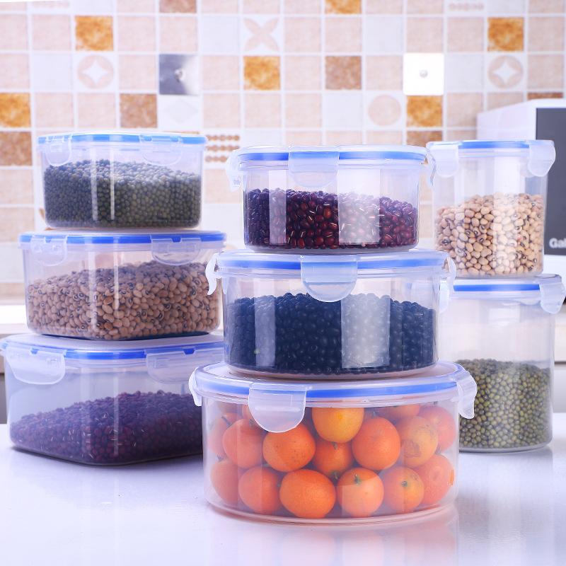 保鲜盒塑料套装冰箱密封收纳盒水果饺子鸡蛋盒便当盒微波炉饭盒