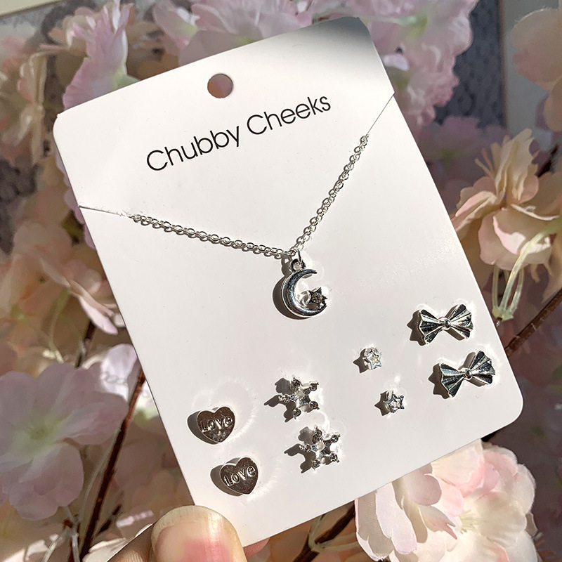 Womens Electroplated Alloy Jewelry Sets NHSD124959