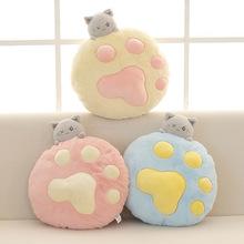 貓咪玩偶可愛生日禮物貓爪毛絨玩具床上睡覺抱枕柔軟小公仔送女生