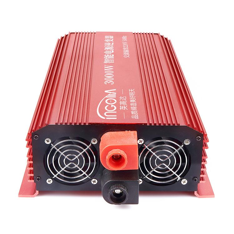 逆变器家用电动车电瓶12v24v48v60v转220v大功率电源转换器3000w