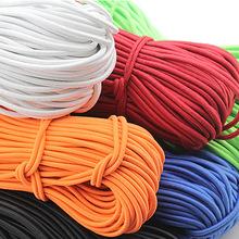 现货2.5mm彩色圆橡筋细弹力绳 串珠弹力橡筋线橡皮绳乳胶松紧带