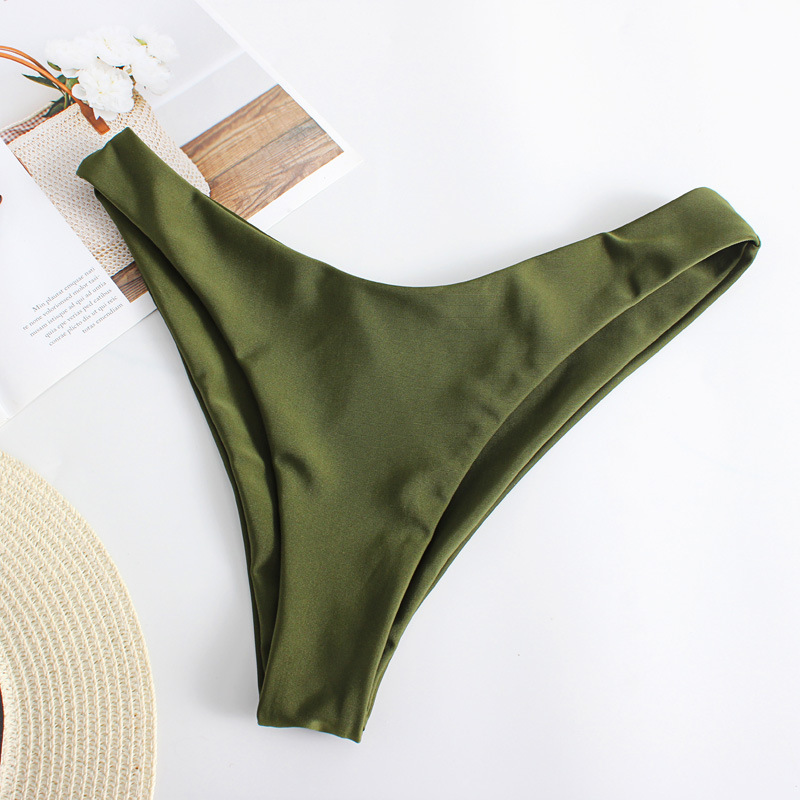 Sexy split swimsuit pleated bikini tube top bikinii wholesales yiwu suppliers china NHHL203323