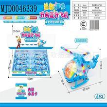 电动万向直升小飞机儿童益智电动玩具一盒6只装