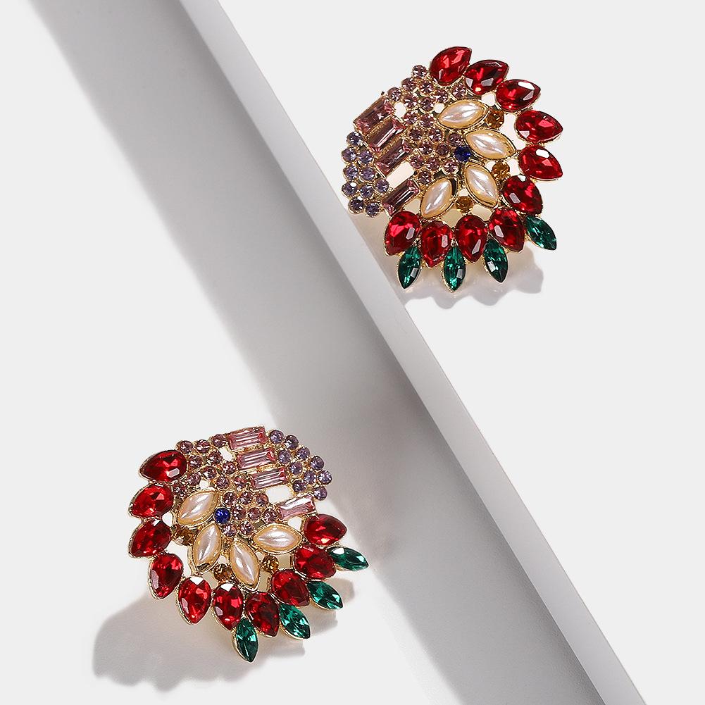 Feminine  Zodiac Gem Earrings NHJQ122785
