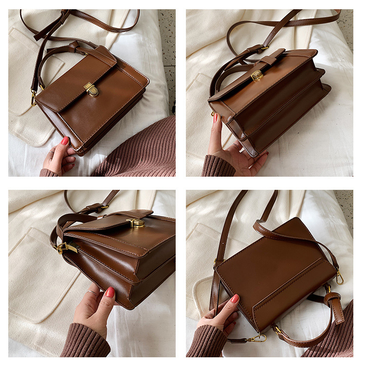 New autumn and winter fashion lock bag shoulder messenger bag cover type NHLD187238