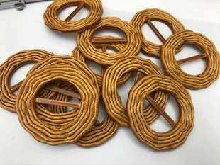 Can be retailed round Japanese buckle belt buckle silk scarf buckle corner buckle three-dang buckle imitation buckle buckle sample spot
