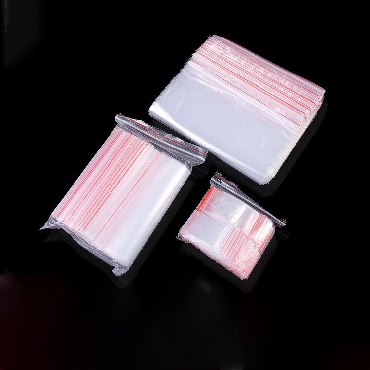 厂家专业生产透明自封袋凹凸扣夹链塑料袋电子封扣包装袋定制
