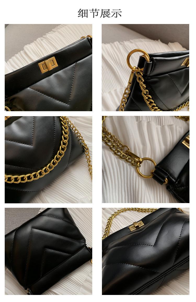 Korean version of the ocean chain shoulder bag NHTC139566