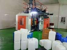 吹塑机,大型中空吹塑机50升-化工桶吹塑机,储料式吹塑机