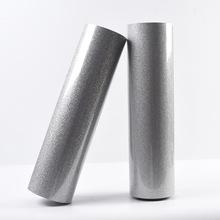 厂家批发热转印刻字膜服装烫印膜 pu金葱刻字膜 PET透明转移膜