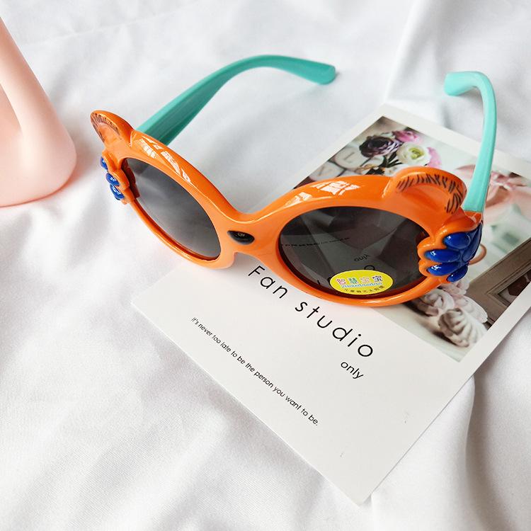 Childrens soft silicone cute polarized sunglasses NHBA311631