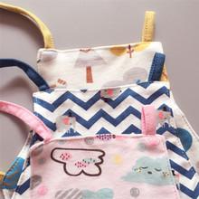 婴儿夏装肚兜6-12个月0双层3新生儿四季通用小孩护肚9婴幼儿兜兜