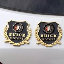 汽車車標VIP側貼別克凱越英朗GT新君越威朗君威改裝薄金屬裝飾貼