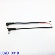 全铜DC线 DC3.5*1.35弯头电热发热手套衣服电源线  LED灯具接头