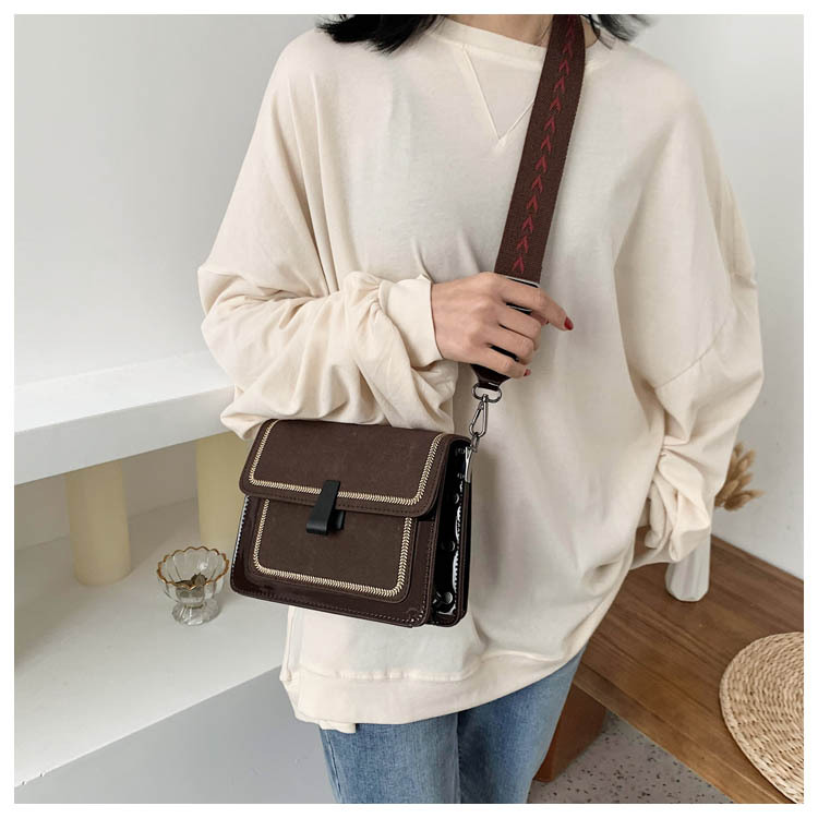 Women's new Korean fashion casual wild one-shoulder messenger small square bag NHTC195626