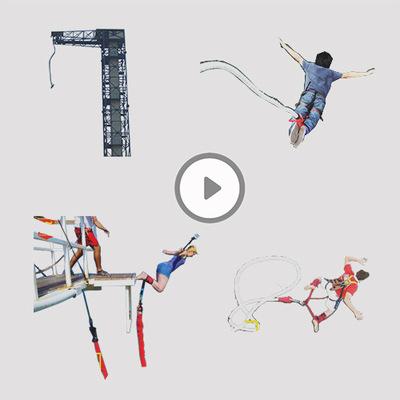空中飞人刺激 挑战游乐设备大型户外成人娱乐项目蹦极厂家直销