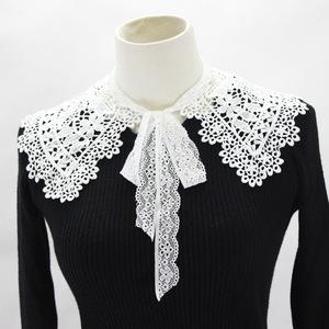 Fake collar Detachable Blouse Dickey Collar False Collar Cut out water soluble fake collar cut out shawl dress collar