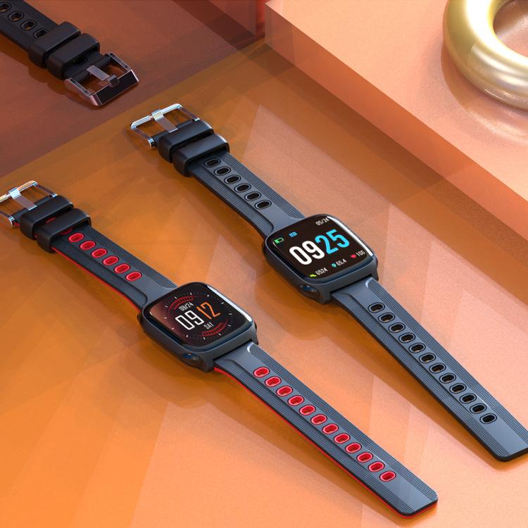 大屏时尚智能手机跨境电商爆IP68计步运动蓝牙智能电子手表厂家