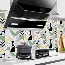 現代彩色幾何線條電視墻水晶瓷磚貼客廳廚房衛生間背景墻貼SJ021