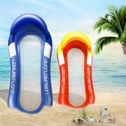 外贸跨境PVC充气夹网游泳浮排外景拍摄道具充气游泳圈浮排批发