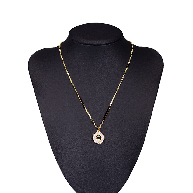 Alloy Fashion Geometric necklace  (Alloy A)  Fashion Jewelry NHAS0539-Alloy-A