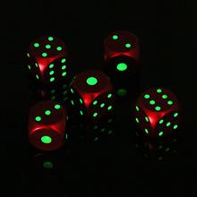 金属骰子套装金色红色骰子酒吧KTV麻将色子铝合金实心筛子色粒