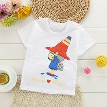 2019新款宝宝上衣女童男童夏款儿童短袖T恤夏季儿童装t恤一件代发