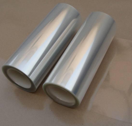 双面防静电PET保护膜 100μm  PC板铝板保护膜微粘膜