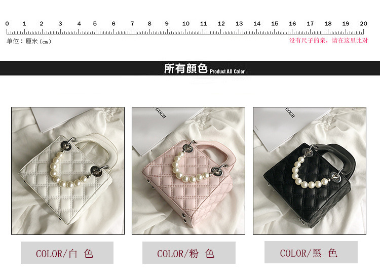 new fashion pearl handbag shoulder messenger  bag wholesale NHLH250746