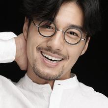 藤井太郎手工板材圆框眼镜框复古2019新款眼镜金属眼镜框架FT2281