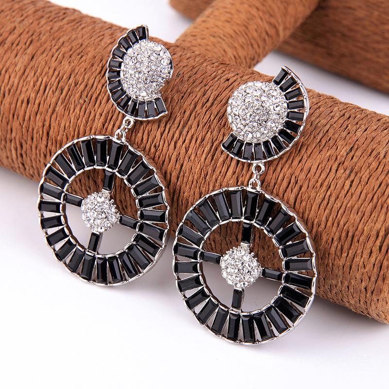 Alloy Fashion Geometric earring  (Photo Color)  Fashion Jewelry NHQD6394-Photo-Color