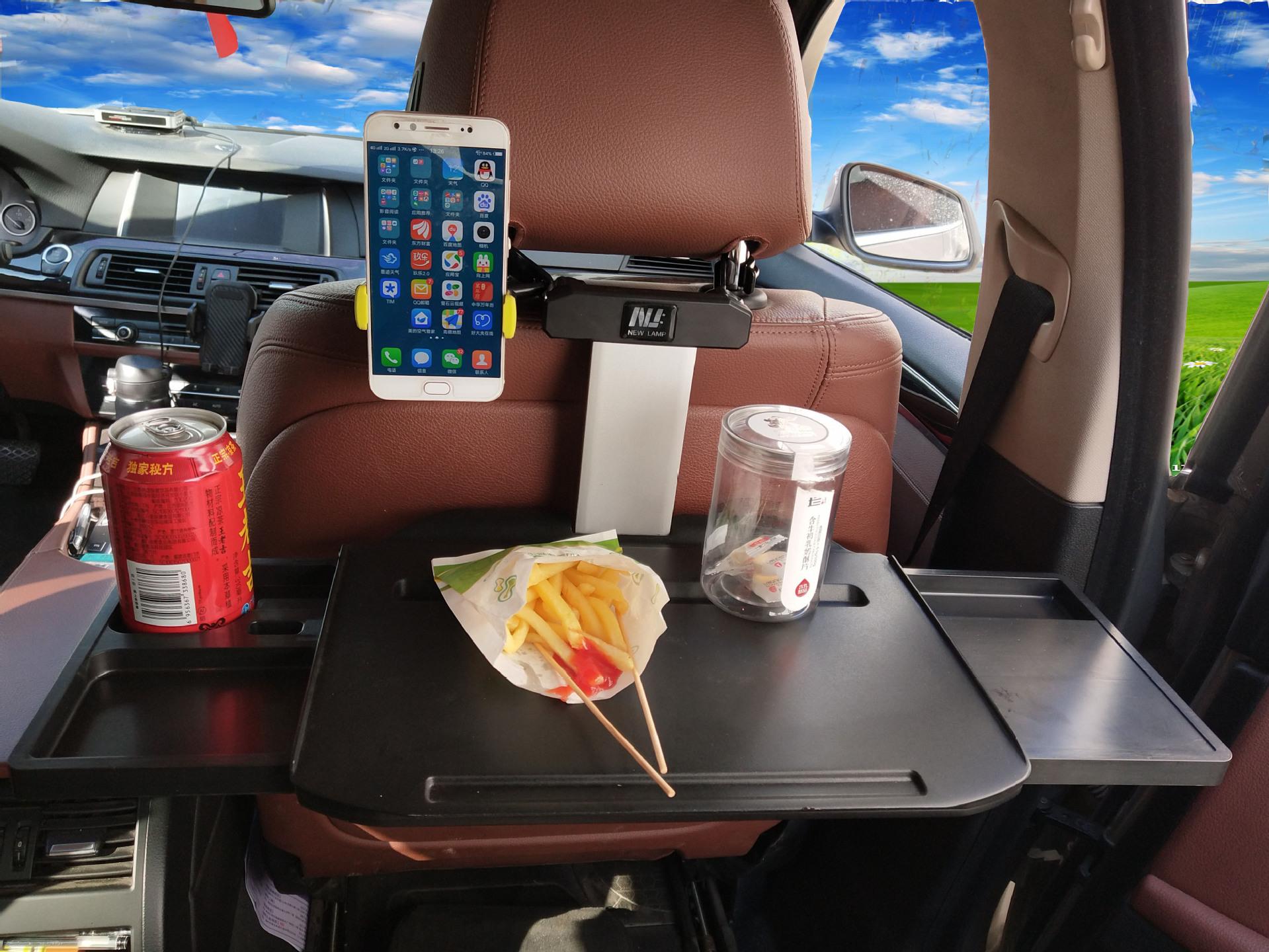 车载电脑支架桌子多功能汽车小桌板折叠小餐桌车载ipad+手机支架|ms