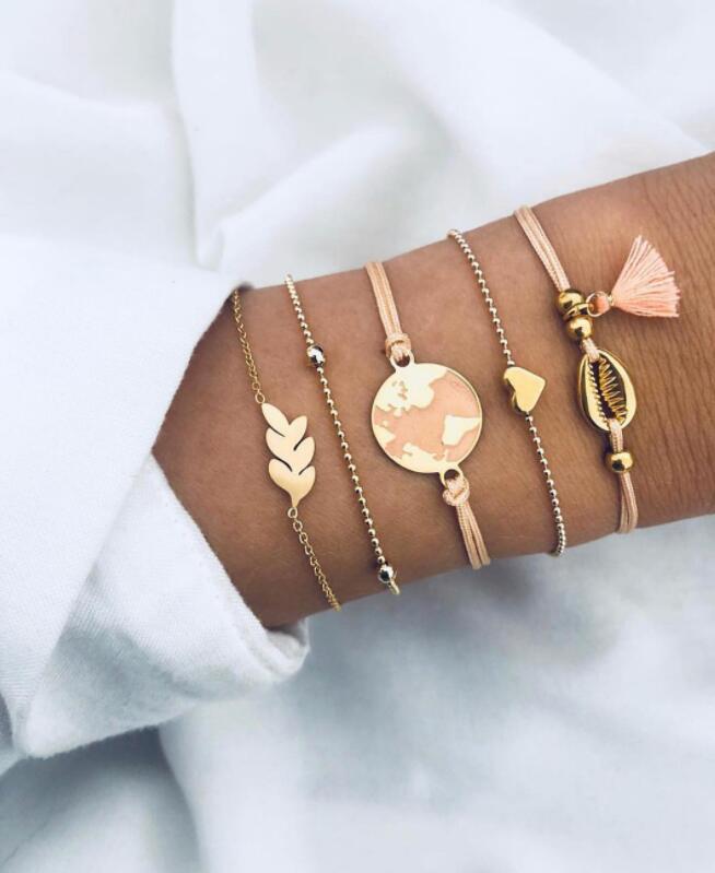 Alloy Fashion Tassel bracelet  Alloy  Fashion Jewelry NHGY2982Alloy