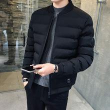 冬季新款男士韩版棉衣外套加厚2018棉服男休闲时尚潮流外套批发