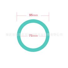 速賣通熱款!10mm厚度圓圈硅膠手鐲 10mm密封圈硅膠鑰匙扣手環