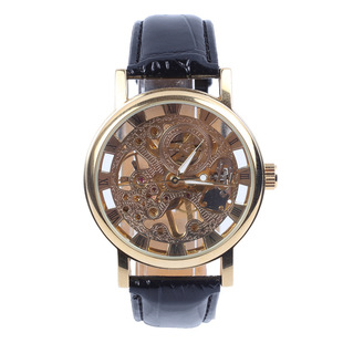 Cross-border classic hollow mechanical watches foreign trade watches fashion watches hollow watches manufacturers wholesale custom watches foreign trade