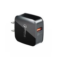 大面包美規QC3.0快充充電器 9V 2A快速充電頭 QC3.0快充usb適配器