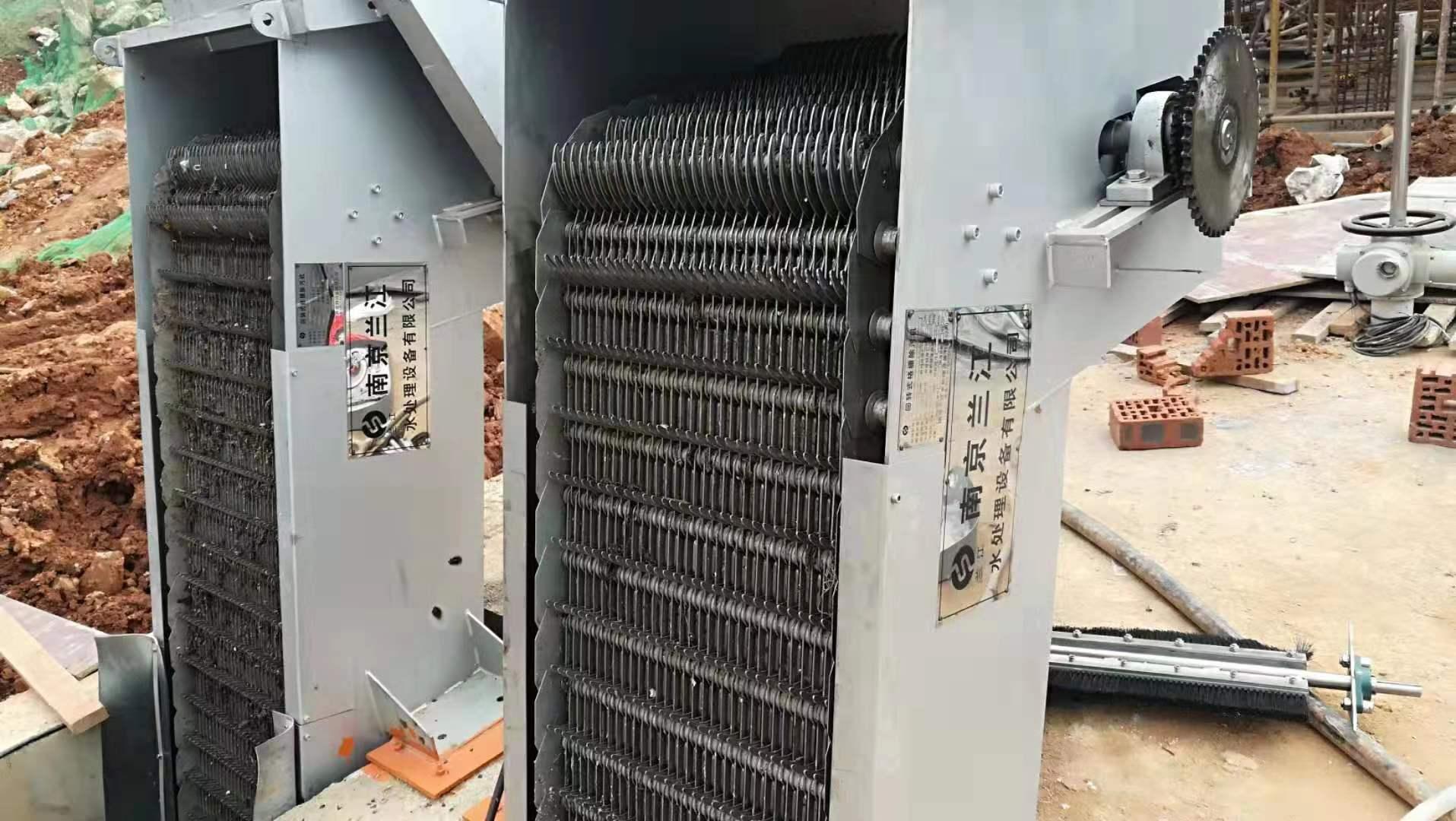 回转式机械格栅机