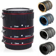單反相機近攝接圈 電動鏡頭 微距轉接環 近攝環 金屬卡口