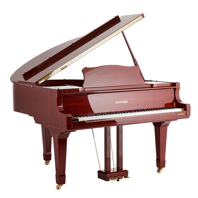 香港皇玛大三角电钢琴一件代发HD-W186卧式三脚自动演奏钢琴