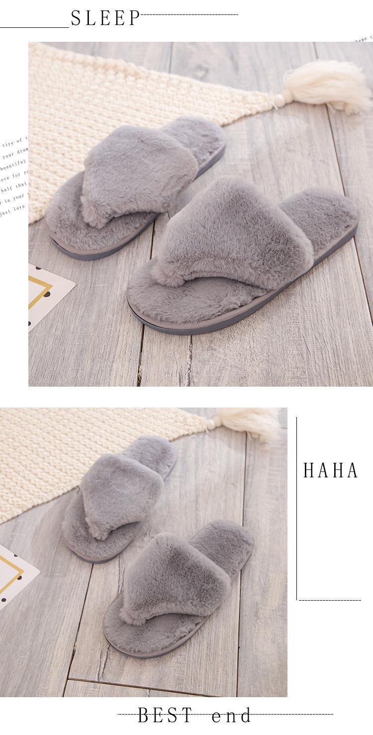 new women's indoor cotton slippers  NSPE10009