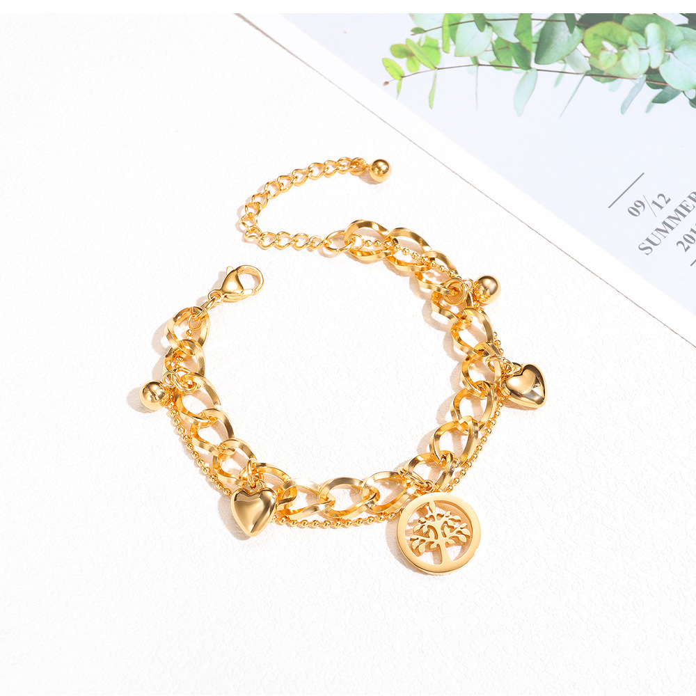fashion multilayer love bracelet  NHOP313434