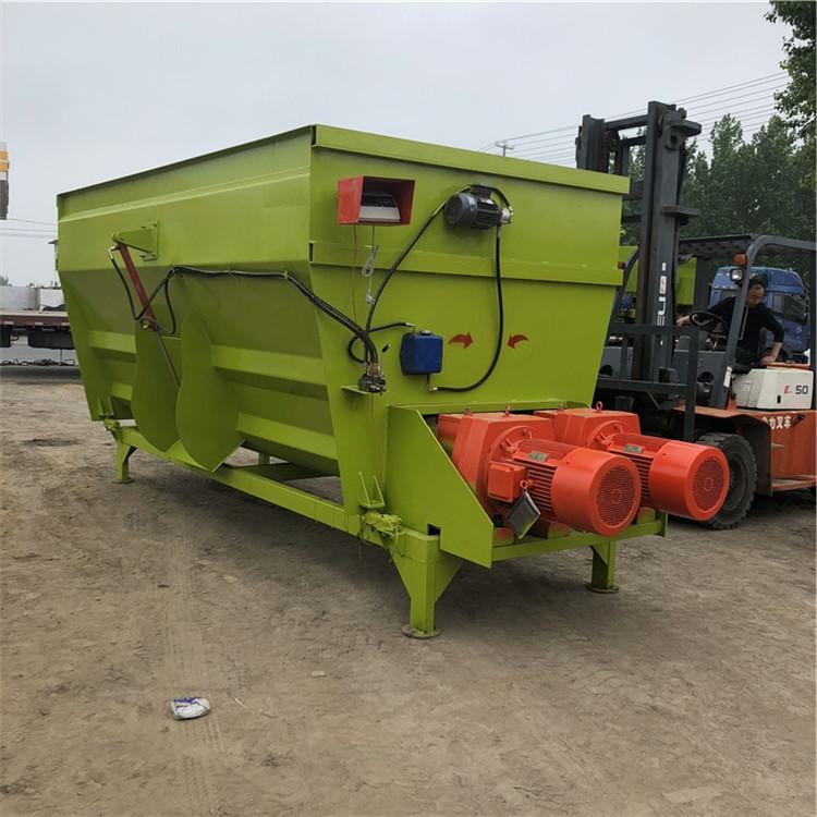 波齿饲料搅拌机图片500公斤草料混合机家用小型饲料搅拌机厂家