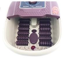 足道足浴盆小号 全自动加热按摩洗脚盆电动泡脚足疗桶足浴器会