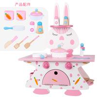 幼乐比兔子餐厨具套装玩具图片