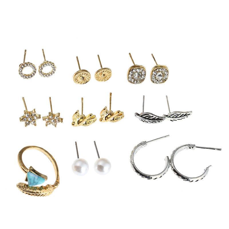 Alloy Fashion Geometric earring  Alloy  Fashion Jewelry NHNZ1247Alloy