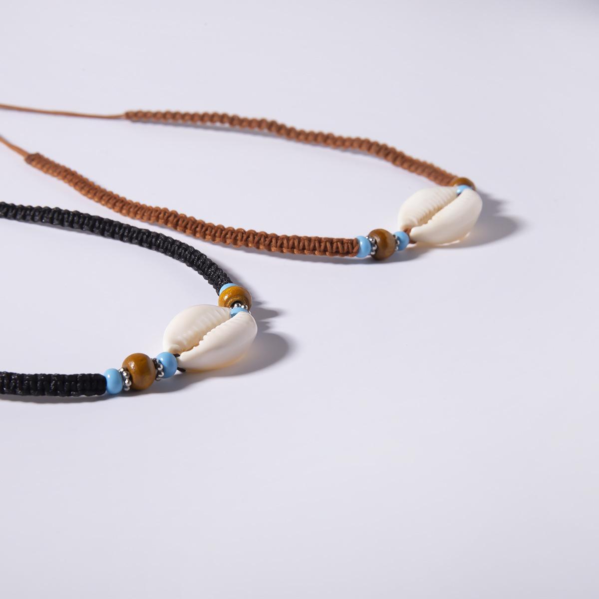Creative Bead Shell Beizhu Handmade Necklace NHXR141833